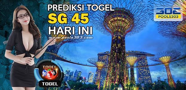 Prediksi Jitu Togel SG45 03Februari 2020